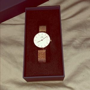 Classic Petite Mesh Strap Watch, DANIEL WELLINGTON